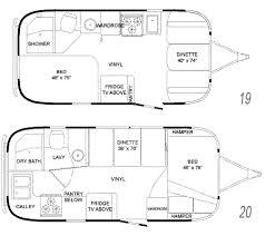 airstream floorplans
