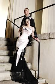 gothic wedding clothes