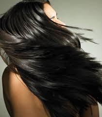 hair shiny