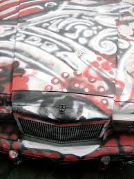 spray paint car
