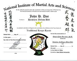 kenpo karate belt