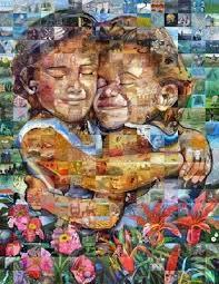 paper mosaic art