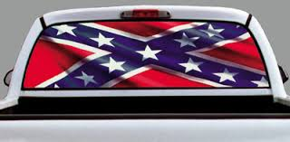 rebel flag window decals