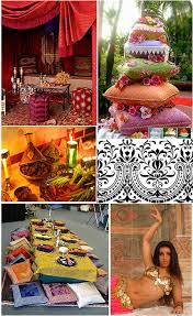 moroccan wedding theme