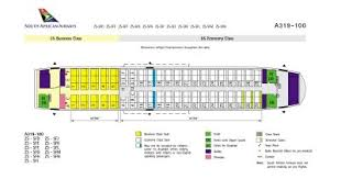 airbus a319 seating chart