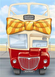 cartoon pictures of buses