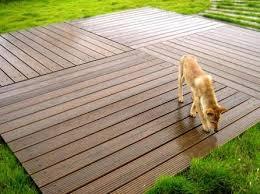 outdoor wood floors