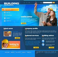 construction web template