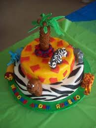 safari cake ideas
