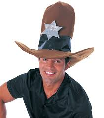large foam cowboy hat