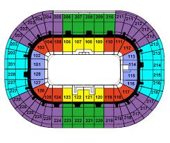 joe louis arena layout