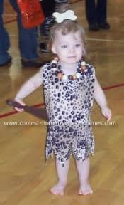 baby pebbles costume