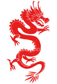 dragon from china