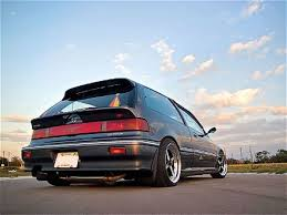 honda civic hatchback 1991