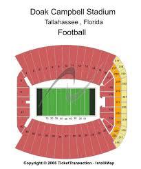 fsu stadium seating chart