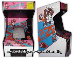 arcade cabinet side art