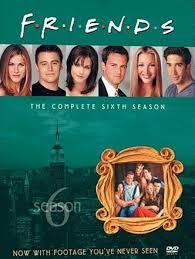friends season 6 dvd