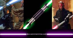 double bladed light saber