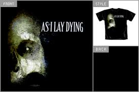 as i lay dying tees