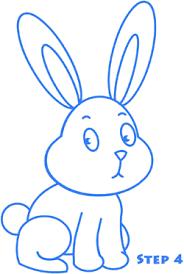 how do you draw a bunny