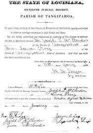 married certificate