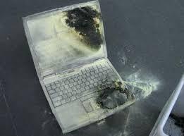 exploding laptops