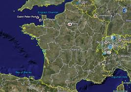 google earth france