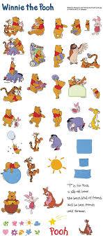 all winnie the pooh characters