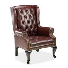 queen anne wingback chairs