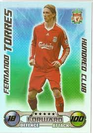 fernando torres hundred club match attax