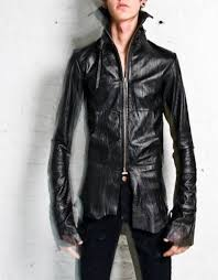 leather jacket fit