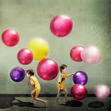 having balls
