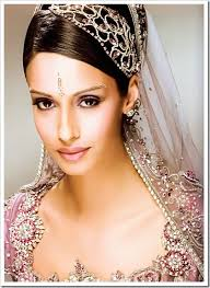 indian brides makeup