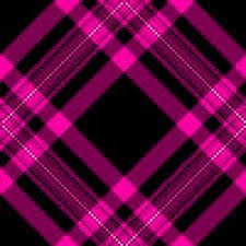 hot pink plaid