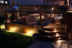deck lighting pictures