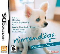 nintendo ds dogs games
