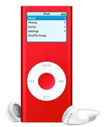 ipod nano in red