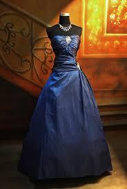 evening dresses blue