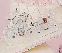 horse and carriage cake toppers