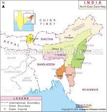 india north