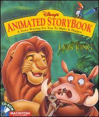 animated storybook the lion king