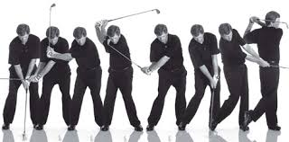 frame by frame golf swings