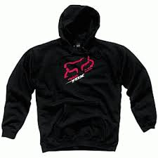 girls fox racing hoodies