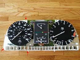 speedometer light