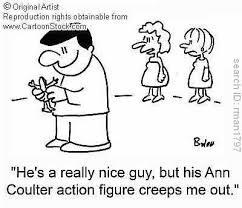 cartoon action figure