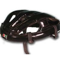 leather bike helmet