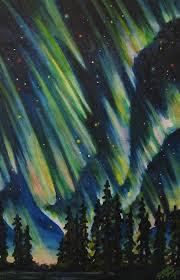 aurora paintings