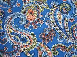 paisley pattern fabric