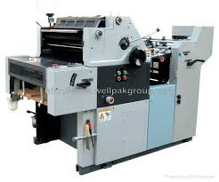 offset printer machine