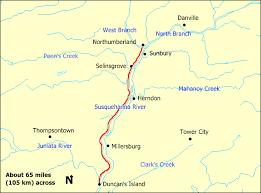 pennsylvania canal map